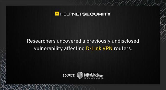 D-Link routers vulnerability