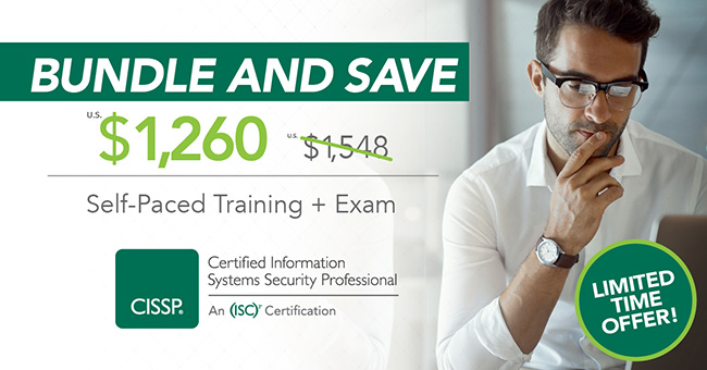 special pricing on CISSP training