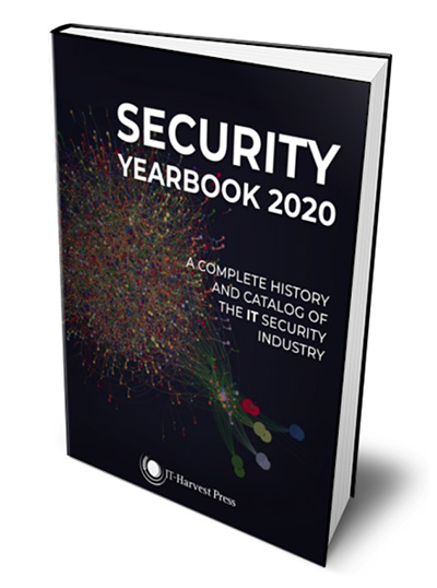 Richard Stiennon publishes Security Yearbook 2020, covers the history of the IT security industry