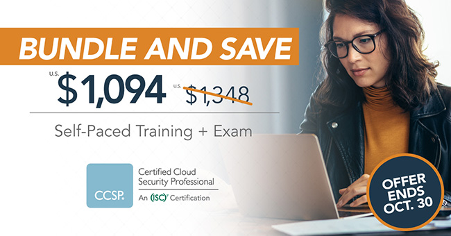 Save on CCSP self-paced exam prep