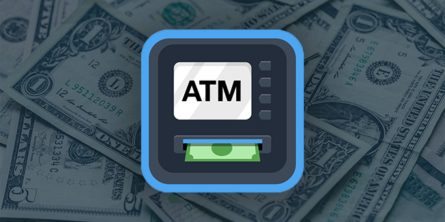 ATM illegal cash withdrawals