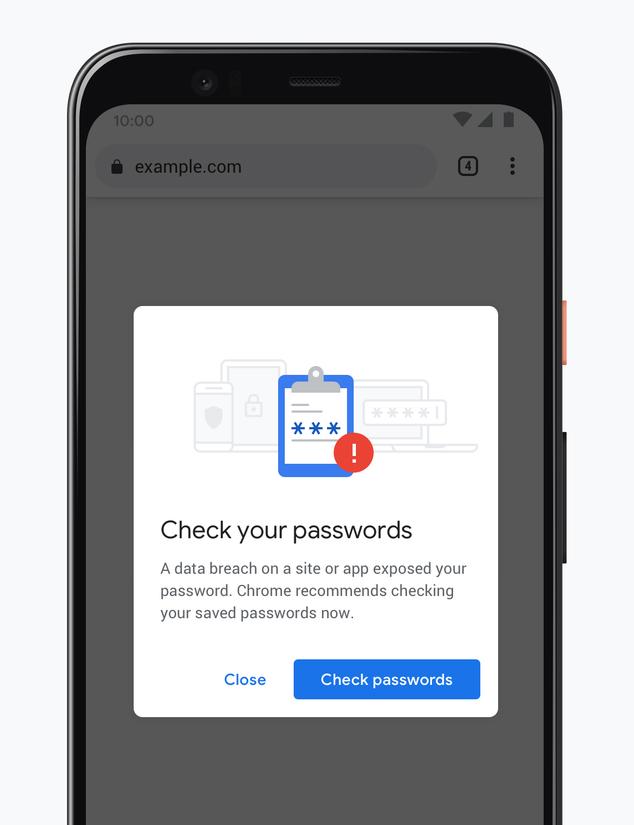 Chrome 86 security
