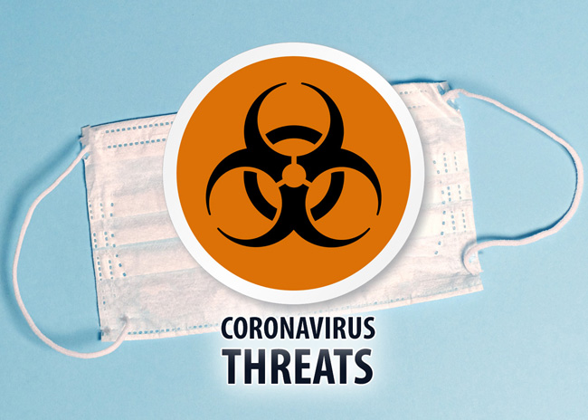 coronavirus ransomware attacks