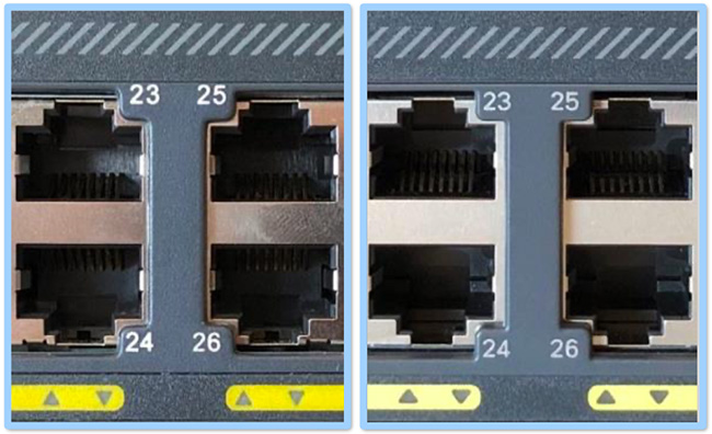 counterfeit Cisco switches