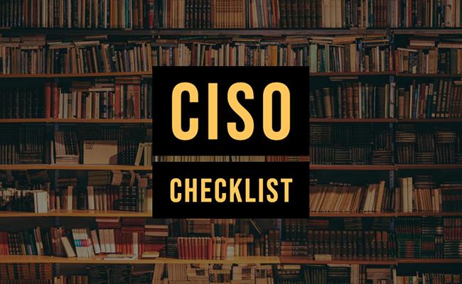 cynet ciso checklist