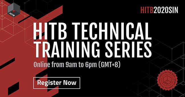 HITB Lockdown 002 trainings