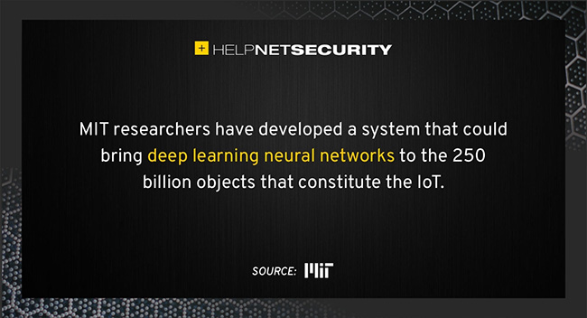 deep learning IoT