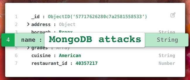 MongoDB attacks