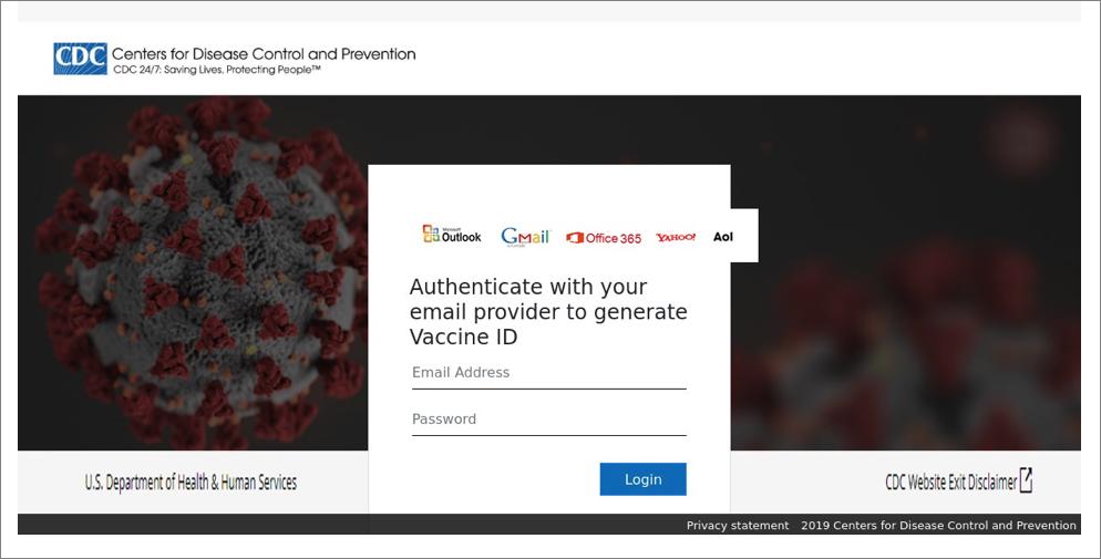 COVID-19 themed phishing