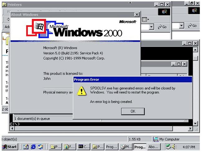 zero-days Windows Print Spooler