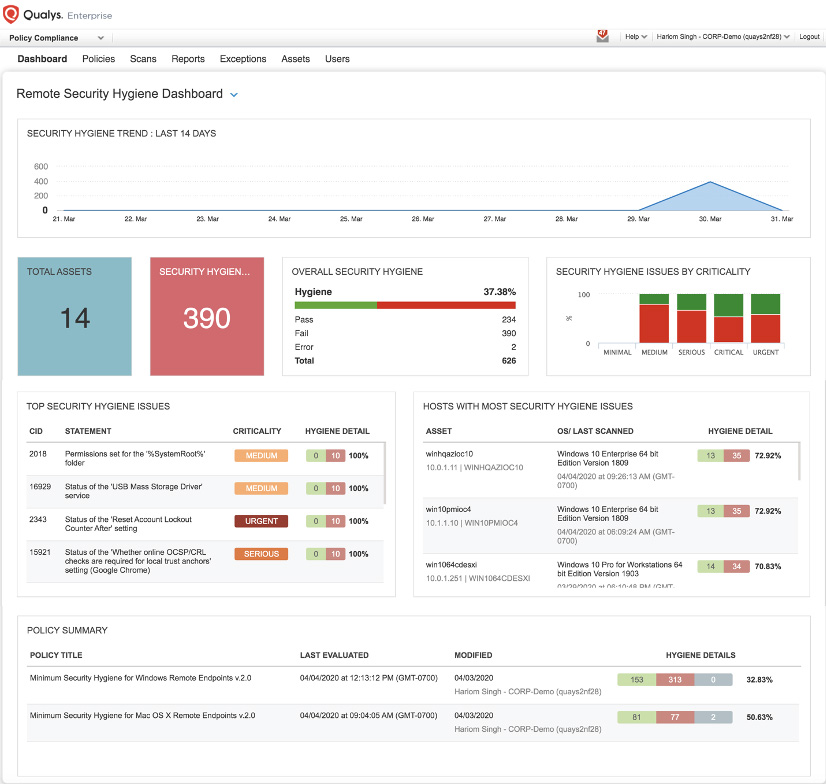 cloud-based Remote Endpoint Protection