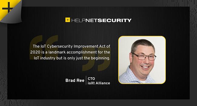 IoT Cybersecurity Improvement Act of 2020