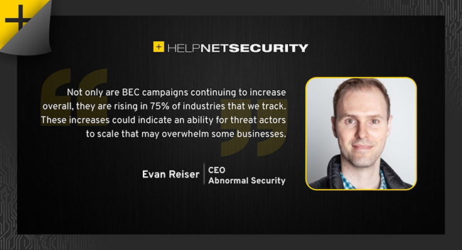 BEC attacks increase