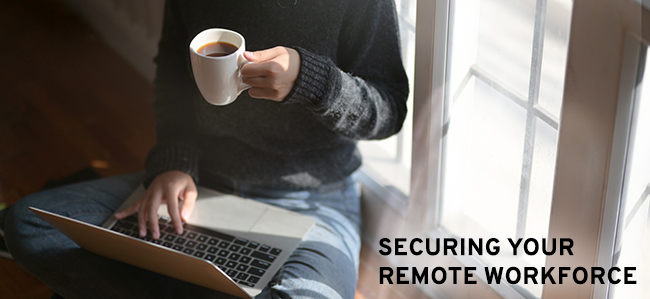 plan remote work security