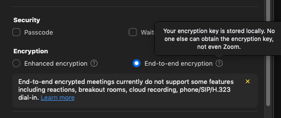 All Zoom users get end-to-end encryption (E2EE) option next week