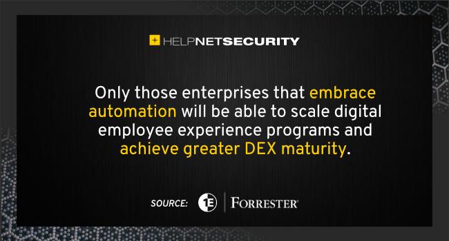 DEX management maturity