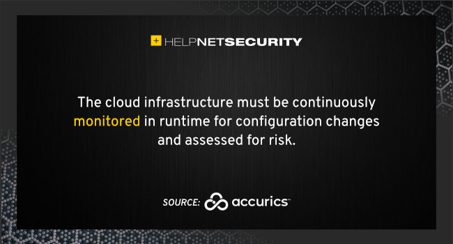 cloud infrastructure risks