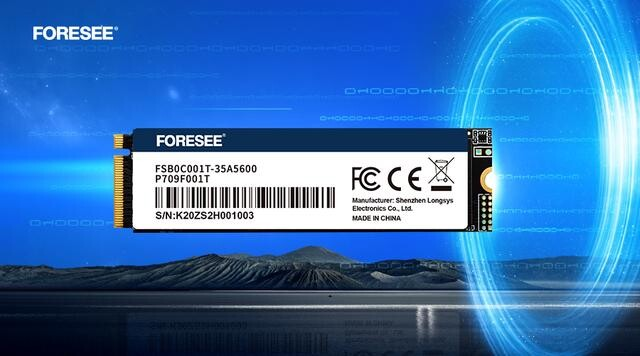 FORESEE P709 PCIe SSD