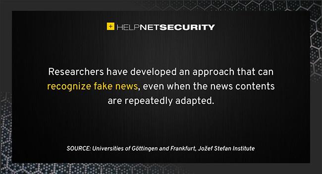recognize fake news