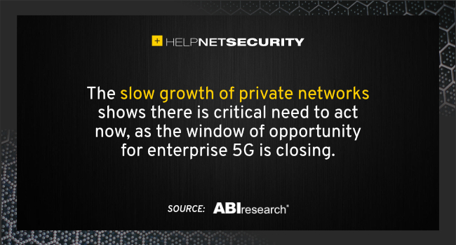 private network deployments slow