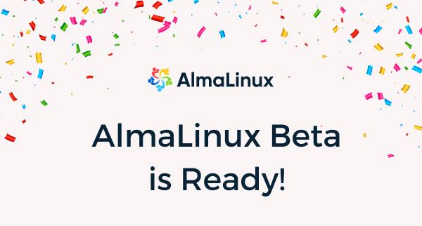 AlmaLinux Beta