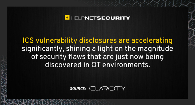 ICS vulnerability disclosures