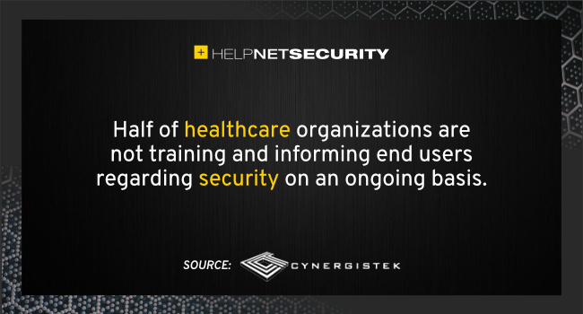 healthcare cybersecurity year