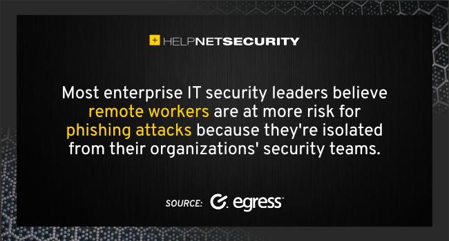weak security remote workers
