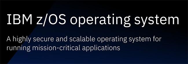 IBM z/OS V2.5