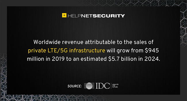 private LTE/5G infrastructure