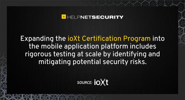 ioXt Alliance Compliance Program