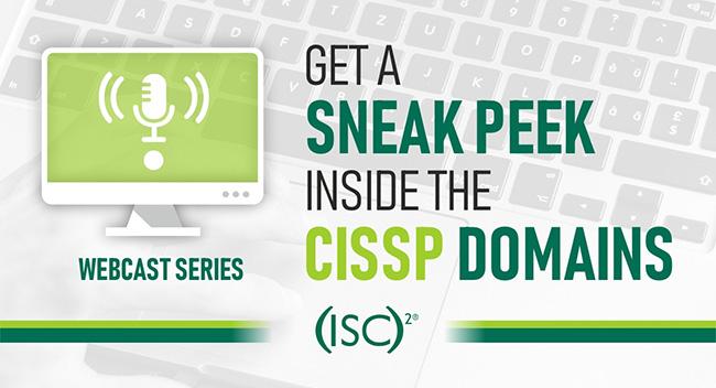 webcast CISSP domains