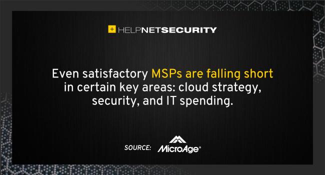 MSPs falling behind