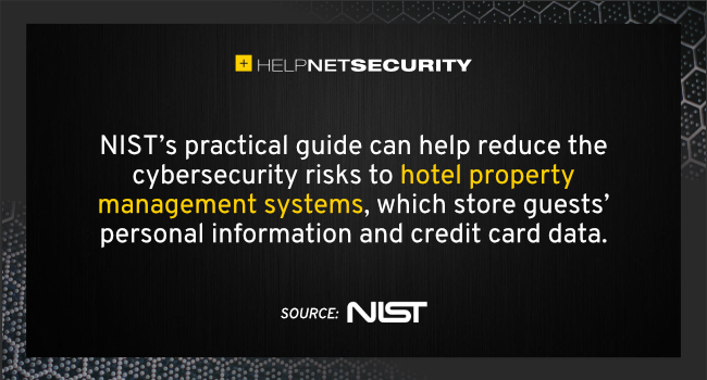 hotel cybersecurity guide