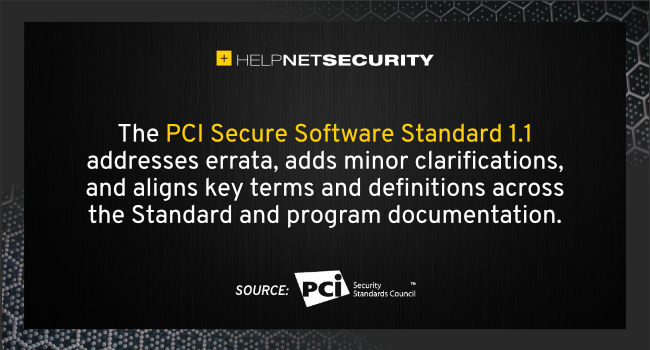PCI Secure Software Standard 1.1