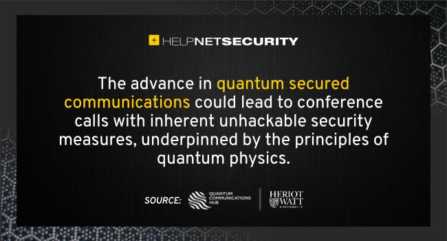 quantum-secure conference calls