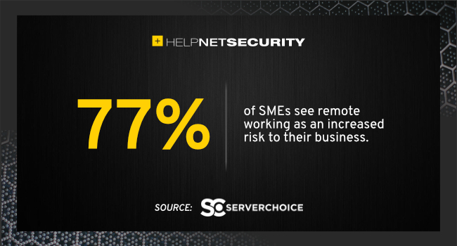 SMEs remote work risk