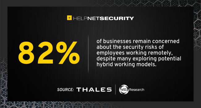 remote working security concerns