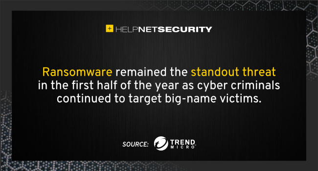 ransomware primary threat