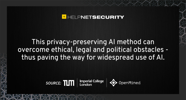 privacy-preserving AI method